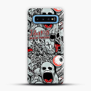 JdotKid Sick N Twisted Design Samsung Galaxy S10 Case