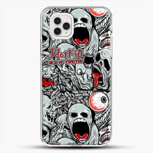 Load image into Gallery viewer, Jdotkid Sick N Twisted Design iPhone 11 Pro Case, White Plastic Case | JoeYellow.com