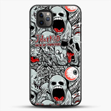 Load image into Gallery viewer, Jdotkid Sick N Twisted Design iPhone 11 Pro Max Case, Black Plastic Case | JoeYellow.com