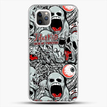 Load image into Gallery viewer, Jdotkid Sick N Twisted Design iPhone 11 Pro Max Case, White Plastic Case | JoeYellow.com