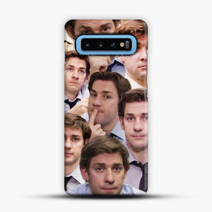 Jim Makes The Face Samsung Galaxy S10 Case
