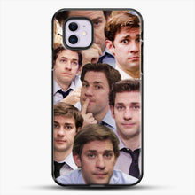 Load image into Gallery viewer, Jim Makes The Face iPhone 11 Case, Black Plastic Case | JoeYellow.com