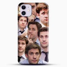 Load image into Gallery viewer, Jim Makes The Face iPhone 11 Case, Black Snap 3D Case | JoeYellow.com