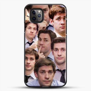 Jim Makes The Face iPhone 11 Pro Max Case, Black Plastic Case | JoeYellow.com
