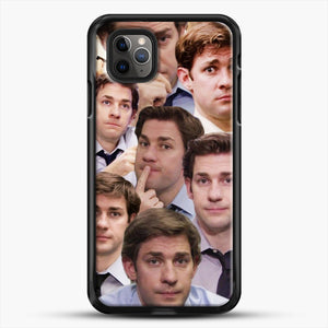 Jim Makes The Face iPhone 11 Pro Max Case, Black Rubber Case | JoeYellow.com