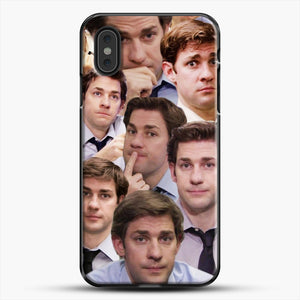 Jim Makes The Face iPhone XS Max Case, Black Plastic Case | JoeYellow.com