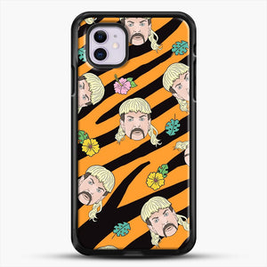 Joe Exotic Tiger King iPhone 11 Case, Black Rubber Case | JoeYellow.com