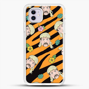 Joe Exotic Tiger King iPhone 11 Case, White Rubber Case | JoeYellow.com
