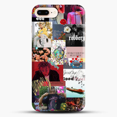 Juice Wrld Collage Hip Hop iPhone 7 Plus Case, Snap 3D Case | JoeYellow.com