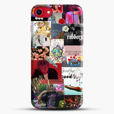 Juice Wrld Collage Hip Hop iPhone 8 Case, Snap 3D Case | JoeYellow.com