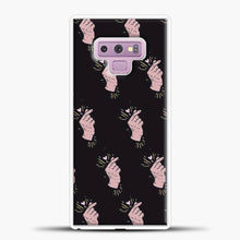 Load image into Gallery viewer, K Pop Hand Heart Fingers Pattern Samsung Galaxy Note 9 Case