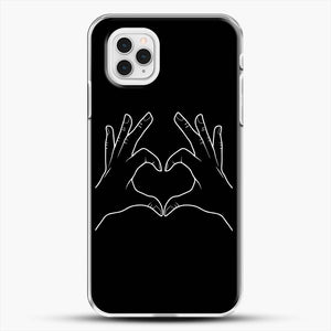 K Pop Hand Heart I Love You iPhone 11 Pro Case