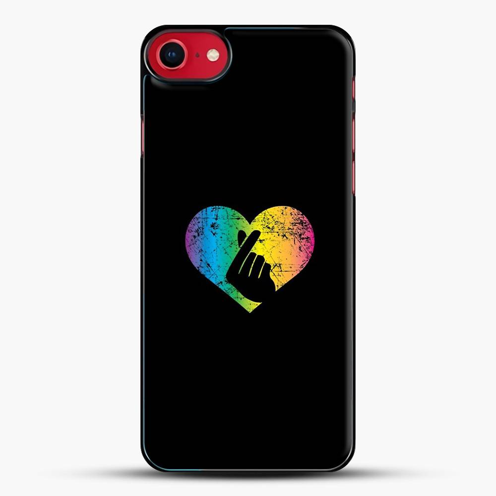 K Pop Hand Heart Korean Pop Music Fun iPhone 7 Case