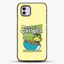 Load image into Gallery viewer, Kappn Crunch iPhone 11 Case, Black Plastic Case | JoeYellow.com
