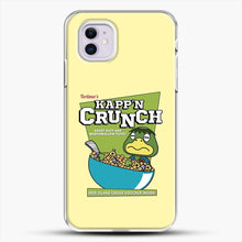 Load image into Gallery viewer, Kappn Crunch iPhone 11 Case, White Plastic Case | JoeYellow.com
