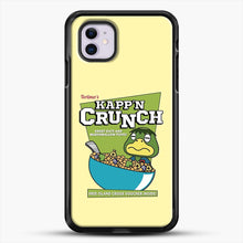 Load image into Gallery viewer, Kappn Crunch iPhone 11 Case, Black Rubber Case | JoeYellow.com