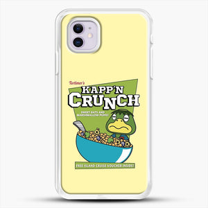 Kappn Crunch iPhone 11 Case, White Rubber Case | JoeYellow.com