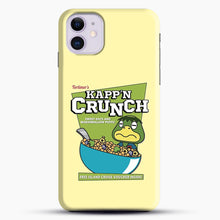 Load image into Gallery viewer, Kappn Crunch iPhone 11 Case, Black Snap 3D Case | JoeYellow.com