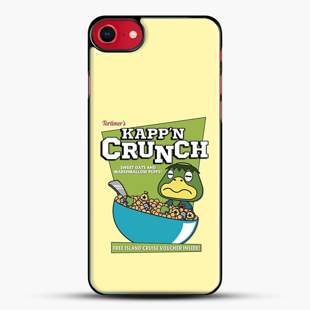 Kappn Crunch iPhone 7 Case, Black Plastic Case | JoeYellow.com