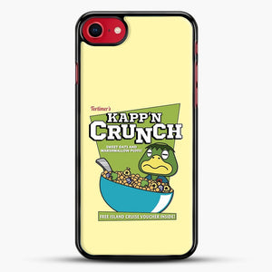 Kappn Crunch iPhone 7 Case, Black Rubber Case | JoeYellow.com