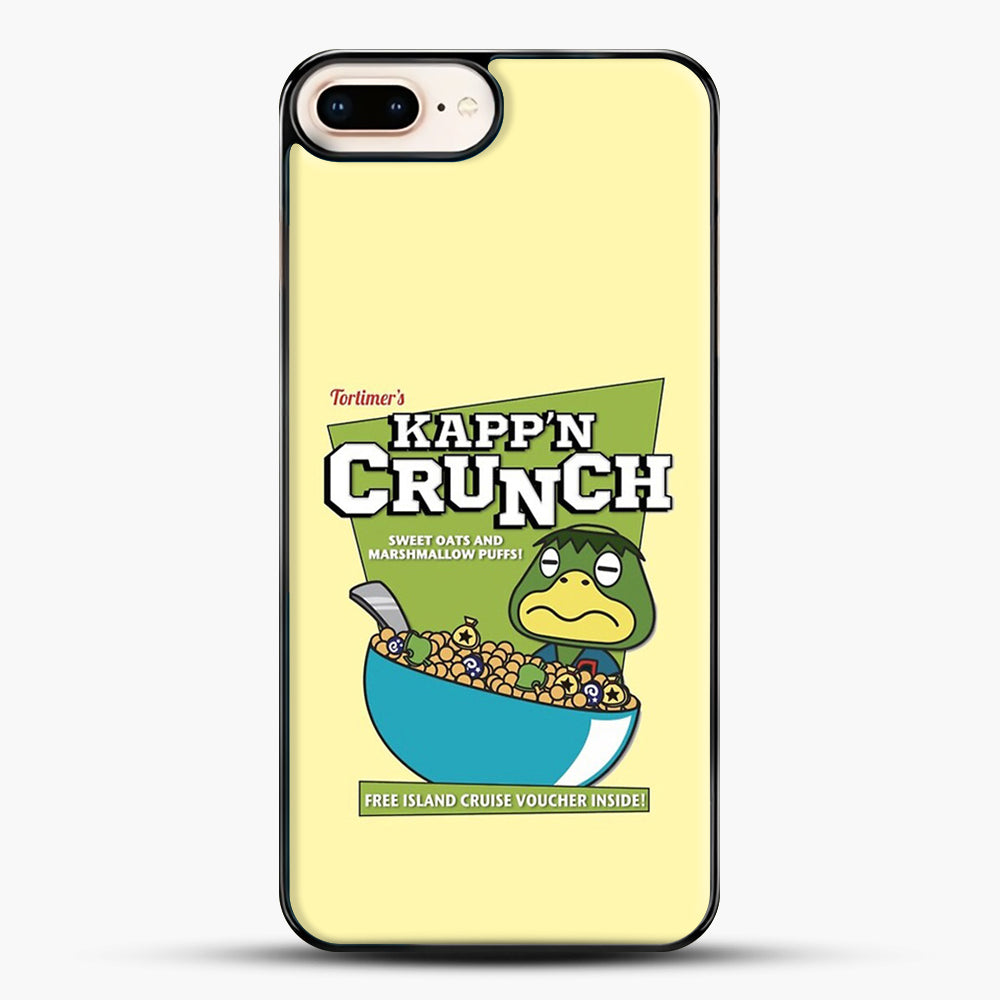 Kappn Crunch iPhone 7 Plus Case, Black Plastic Case | JoeYellow.com