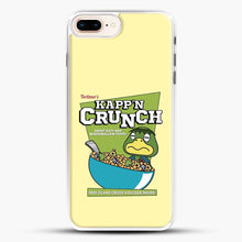 Load image into Gallery viewer, Kappn Crunch iPhone 7 Plus Case, White Rubber Case | JoeYellow.com