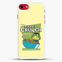 Load image into Gallery viewer, Kappn Crunch iPhone 8 Case, White Rubber Case | JoeYellow.com