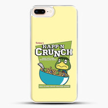 Load image into Gallery viewer, Kappn Crunch iPhone 8 Plus Case, White Plastic Case | JoeYellow.com