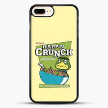 Load image into Gallery viewer, Kappn Crunch iPhone 8 Plus Case, Black Rubber Case | JoeYellow.com