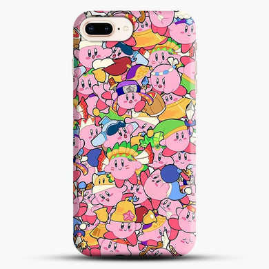 Kirby Pattern iPhone 7 Plus Case, Snap 3D Case | JoeYellow.com