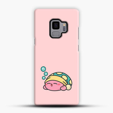 Kirby Sleepy Samsung Galaxy S9 Case, Snap 3D Case | JoeYellow.com