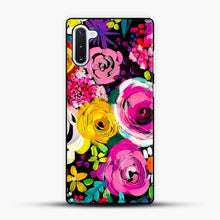 Load image into Gallery viewer, Les Fleurs Vibrant Floral Painting Print Samsung Galaxy Note 10 Case