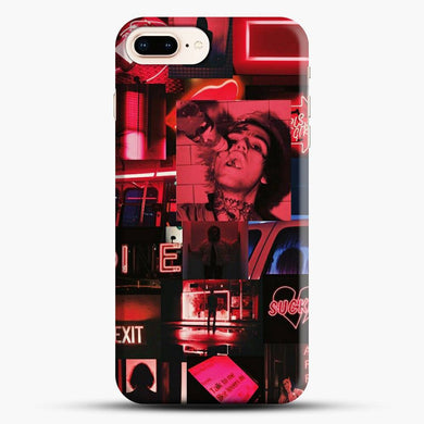 Lil Peep Doodle iPhone 7 Plus Case, Snap 3D Case | JoeYellow.com