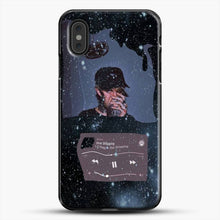 Load image into Gallery viewer, Lil Peep Star Shopping iPhone XS Max Case, Black Plastic Case | JoeYellow.com