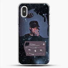 Load image into Gallery viewer, Lil Peep Star Shopping iPhone XS Max Case, White Plastic Case | JoeYellow.com