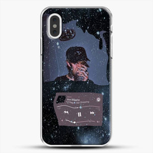 Lil Peep Star Shopping iPhone XS Max Case, White Plastic Case | JoeYellow.com