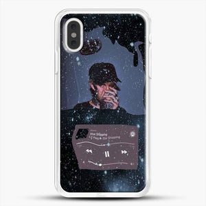 Lil Peep Star Shopping iPhone XS Max Case, White Rubber Case | JoeYellow.com