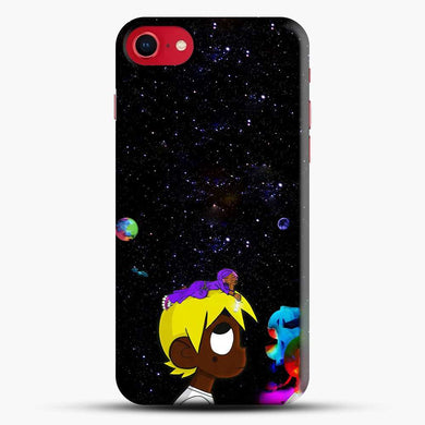 Lil Uzi Vert Black Galaxy Background iPhone 8 Case, Black Snap 3D Case | JoeYellow.com
