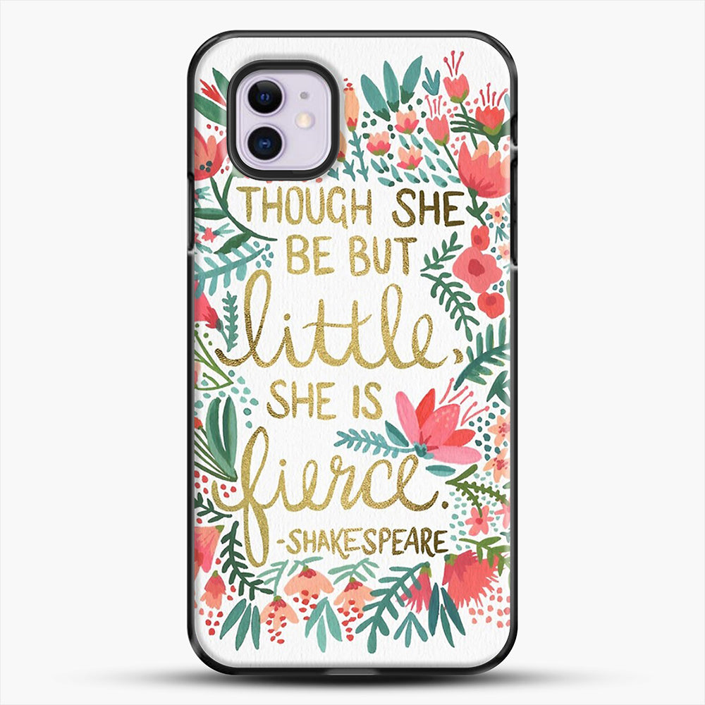 Little And Fierce iPhone 11 Case, Black Plastic Case | JoeYellow.com