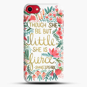 Little And Fierce iPhone 8 Case, Black Snap 3D Case | JoeYellow.com