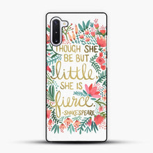 Load image into Gallery viewer, Little & Fierce Samsung Galaxy Note 10 Case