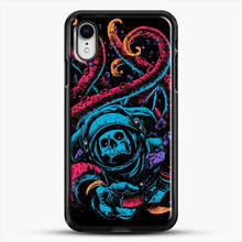 Load image into Gallery viewer, Lost iPhone XR Case, Black Rubber Case | JoeYellow.com