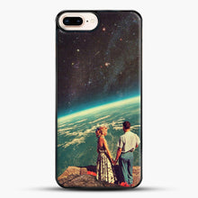 Load image into Gallery viewer, Love iPhone 7 Plus Case, Black Plastic Case | JoeYellow.com