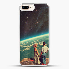 Load image into Gallery viewer, Love iPhone 7 Plus Case, White Plastic Case | JoeYellow.com