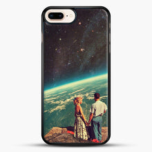 Load image into Gallery viewer, Love iPhone 7 Plus Case, Black Rubber Case | JoeYellow.com