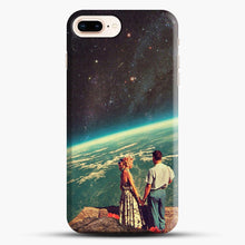 Load image into Gallery viewer, Love iPhone 7 Plus Case, Black Snap 3D Case | JoeYellow.com