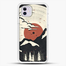 Load image into Gallery viewer, Mtn Lp iPhone 11 Case, White Rubber Case | JoeYellow.com