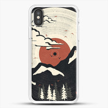 Load image into Gallery viewer, Mtn Lp iPhone X Case, White Rubber Case | JoeYellow.com