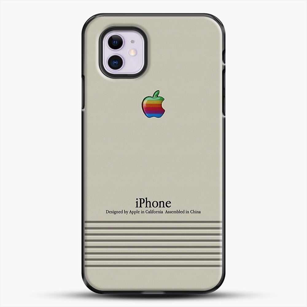 Macintosh iPhone Case iPhone 11 Case, Black Plastic Case | JoeYellow.com