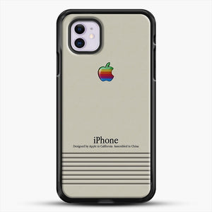 Macintosh iPhone Case iPhone 11 Case, Black Rubber Case | JoeYellow.com